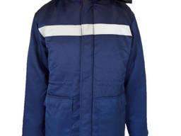 Куртка зимняя рабочая, меховой воротник