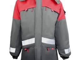 Куртка спортивная мужская утепленная
