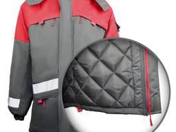 Куртка зимняя рабочая с свп полосами, утепленные куртки рабочие