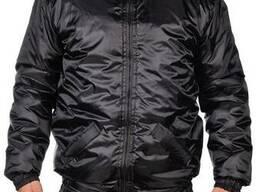 Куртка зимняя, спецодежда высокого качества, черная