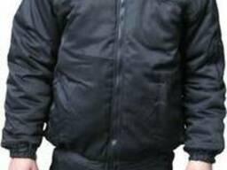 Куртки утепленные для охраны, производств