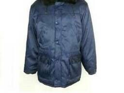 Курточка утепленная с меховым воротником