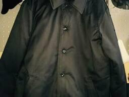 Куртка ватяна з капюшоном зима