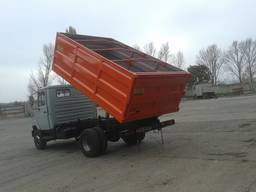 Кузов самосвальный зерновоз на ГАЗ ЗИЛ КАМАЗ