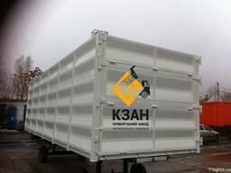 Кузов зерновоз, кузов БДФ, кузов под зерно, контейнер - фото 7