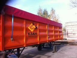 Кузов зерновоз, кузов БДФ, кузов под зерно, контейнер - фото 8