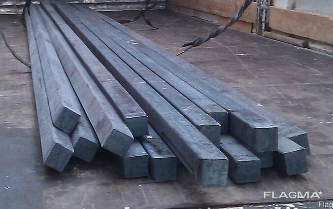 Калиброванный квадрат 10х10 мм сталь 20, 35, 45,
