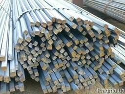 Квадрат сталевий 10х10, 12х12, 14х14, 16х16, 20х20, 22х22, 25х25, 30х30