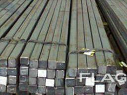 Квадрат 40х40, 50х50, 60х60 горячекатаный стальной сталь. ..