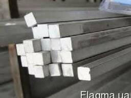 Квадрат алюминевый АД0, АД1, АД.