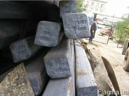 Квадрат сталь 3, 20, 35, 45, 40Х купить, цена