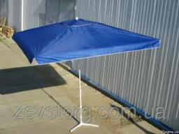 Квадратный торговый зонт