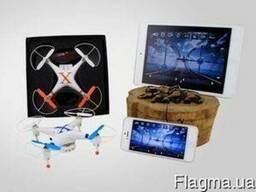 Квадрокоптер с камерой для трансляции в реальном времени (др
