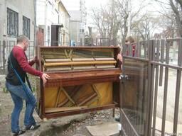 Квартиры, мебель, пианино. Услуги грузчиков.