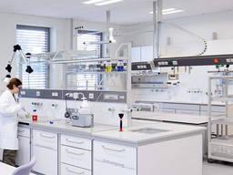 Лабораторная мебель под заказ