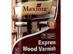 Лак экспресс для дерева TM Maxima быстросохнущий