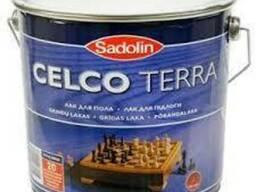 Лак паркетный Sadolin Celco Terra 10 л.