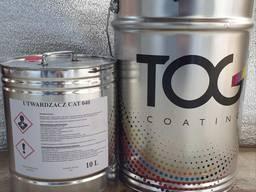 Фарба/ Краска біла поліуретан 35 кг. із затвердником 25і10 л