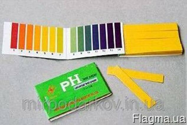 Лакмусовая бумага 1-14 pH. - 80 штук