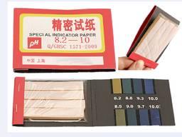 Лакмусовая индикаторная бумага 8.2-10 РН тест 80 полосок ph рн тест метр