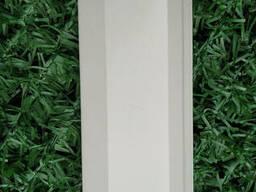Ламели для забора металлический Жалюзи 112мм цвет 9003 белый глянец двухсторонний 0, 45. ..