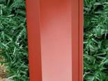 Ламели для забора Жалюзи 112мм цвет 7024 графитовый. .. - фото 3