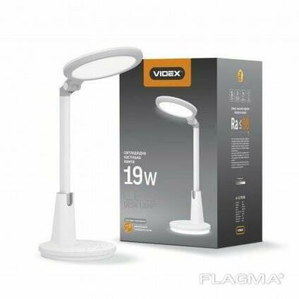 Сенсорная Настольная LED Лампа Videx 19W Белая