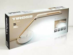 Лампа светодиодная настольная Tiross TS-1806-Gold 72 Led золотистая