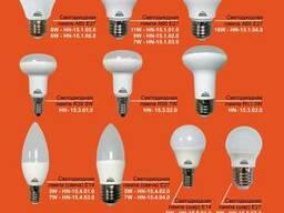 Лампа светодиодная оптом от 50 штук.