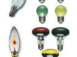 Лампы декоративные шар, свеча Philips, General Electric