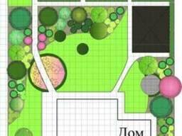 Ландшафтный дизайн, автополив участка, дачи, сада.