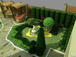 Ландшафтный проект и ландшафтное проектирование
