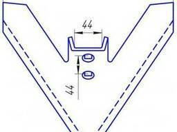 Лапа культиватора Flexi Koil стрельчатая, ширина 290мм.