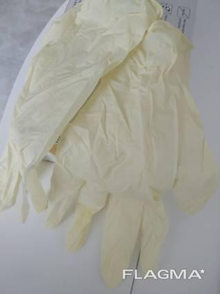 Оптом Латексні рукавички без пудри (неопудрені) L M S