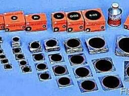 Латки для ремонта камер.Шиномонтажый расходный м-л