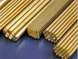 Латунь прут ЛС 59-1, 3 мм, 3000 мм
