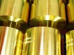 Латунная лента, фольга D -0,35х200; 0,4х14мм(Л 63 ;Л63М)