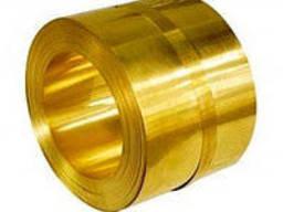 Латунная лента ЛС 59-1 0, 8x40 Т купить, цена, гост, опт