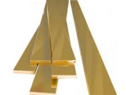 Полоса латунная Л68, 1, 0-2, 5*600-710*1500-2000 опт с розни