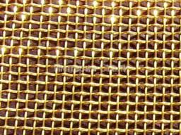 Латунная сетка тканная