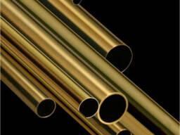 Латунная труба 50х10мм ЛС-59-1 немерная