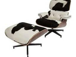 Лаунж крісло Eames Lounge Chair and Ottoman, Ebony Київ