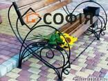 Лавочки, банкетки, садовая мебель, ваза цветник - фото 3
