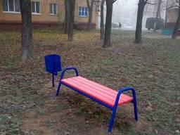Лавочки парковые, скамейки