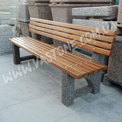 Лавочки садовые и для беседки, скамейки парковые со спинкой