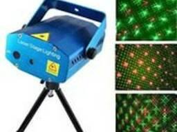 Лазерный проектор Mini Laser Stage Lighting YX-039 - фото 2