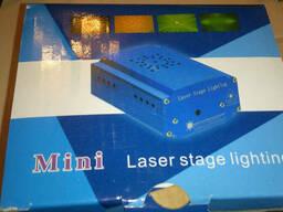 Лазерный проектор Mini Laser Stage Lighting YX-039 - фото 4