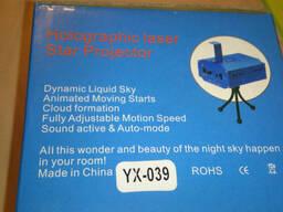Лазерный проектор Mini Laser Stage Lighting YX-039 - фото 5