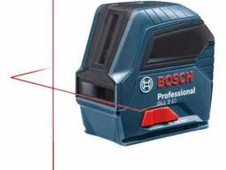 Лазерный уровень (нивелир) BOSCH GLL 2-10 /Лазерний нівелір