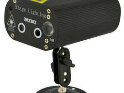 Лазерный установка (проектор, стробоскоп, светомузыка) RD-8008L RGB + пульт Black (14574)